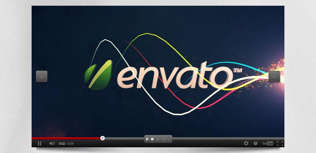 نمایش ویدیو در اسلایدر با لایر اسلایدر