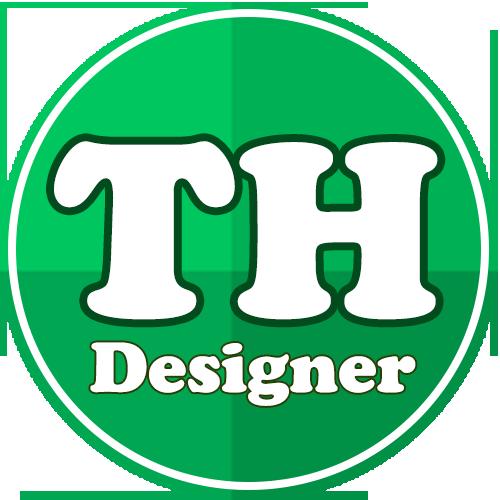لوگو وب سایت تی اچ دیزاینر