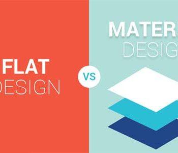 طراحی سایت فلت یا متریال؟