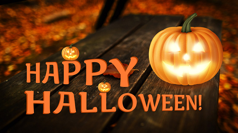دمو اسلایدر Happy Halloween! لایراسلایدر