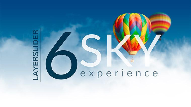 دمو اسلایدر Sky Experience لایراسلایدر