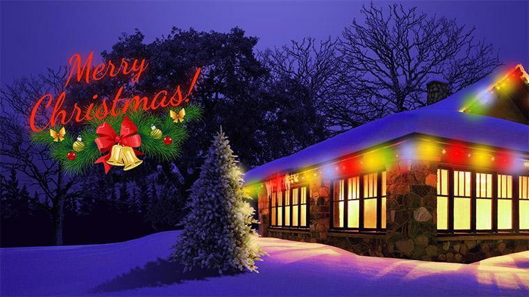 دمو اسلایدر Merry Christmas! لایراسلایدر