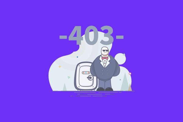آموزش رفع خطای 403 وردپرس