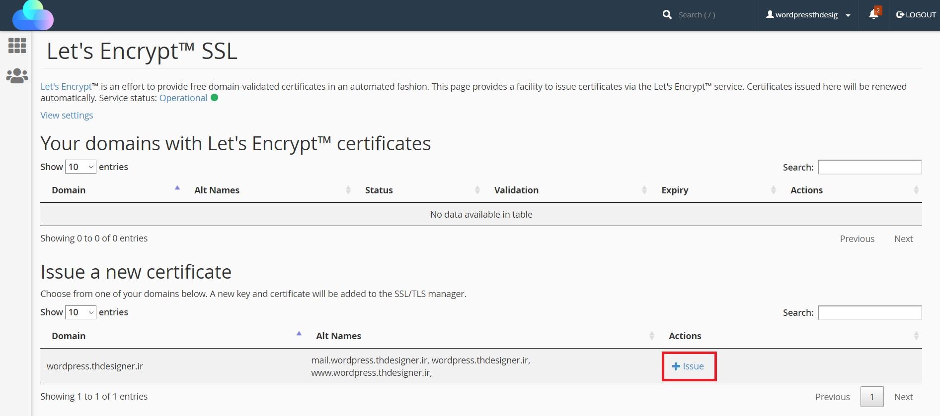 آموزش فعالسازی SSL در دهاستینگ