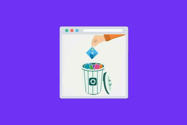 آموزش خالی کردن سطل زباله در سی پنل