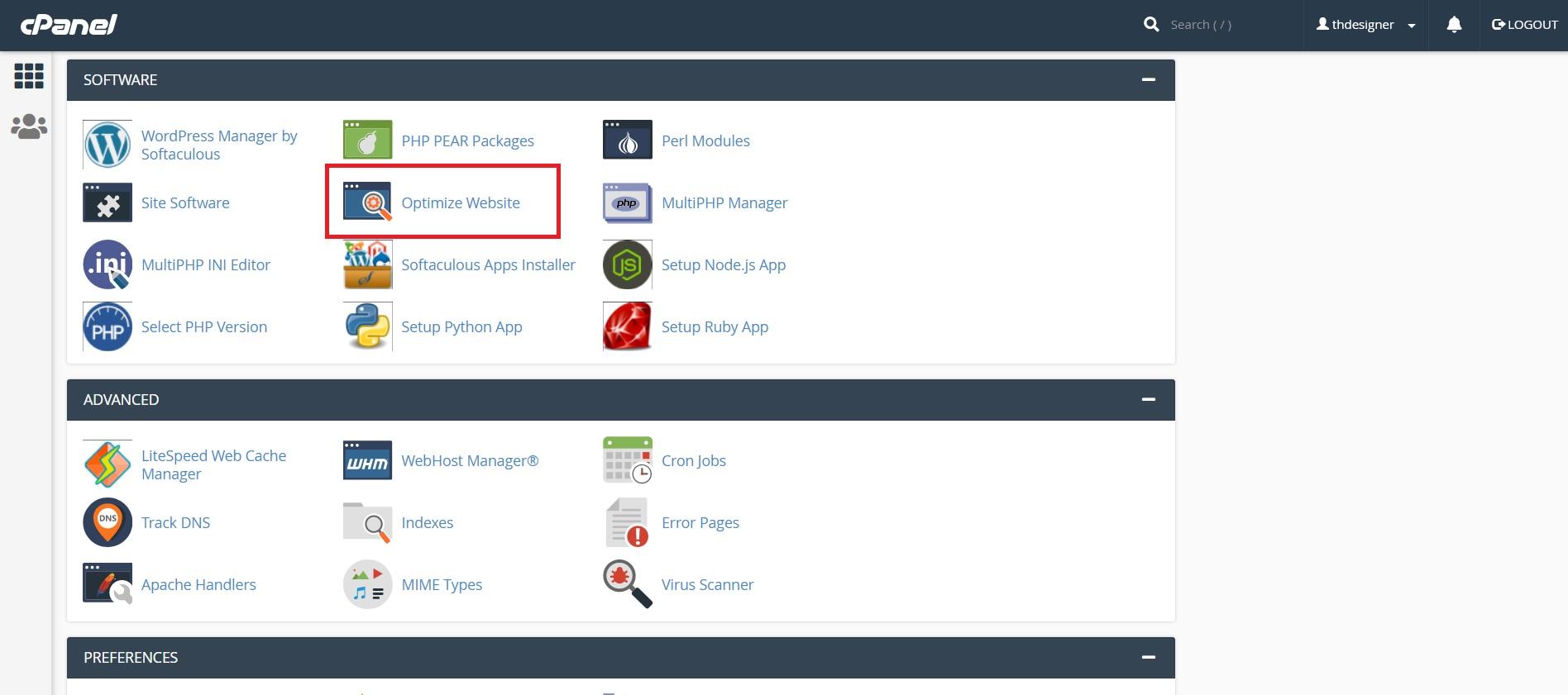 آموزش بهینه سازی سایت در سی پنل