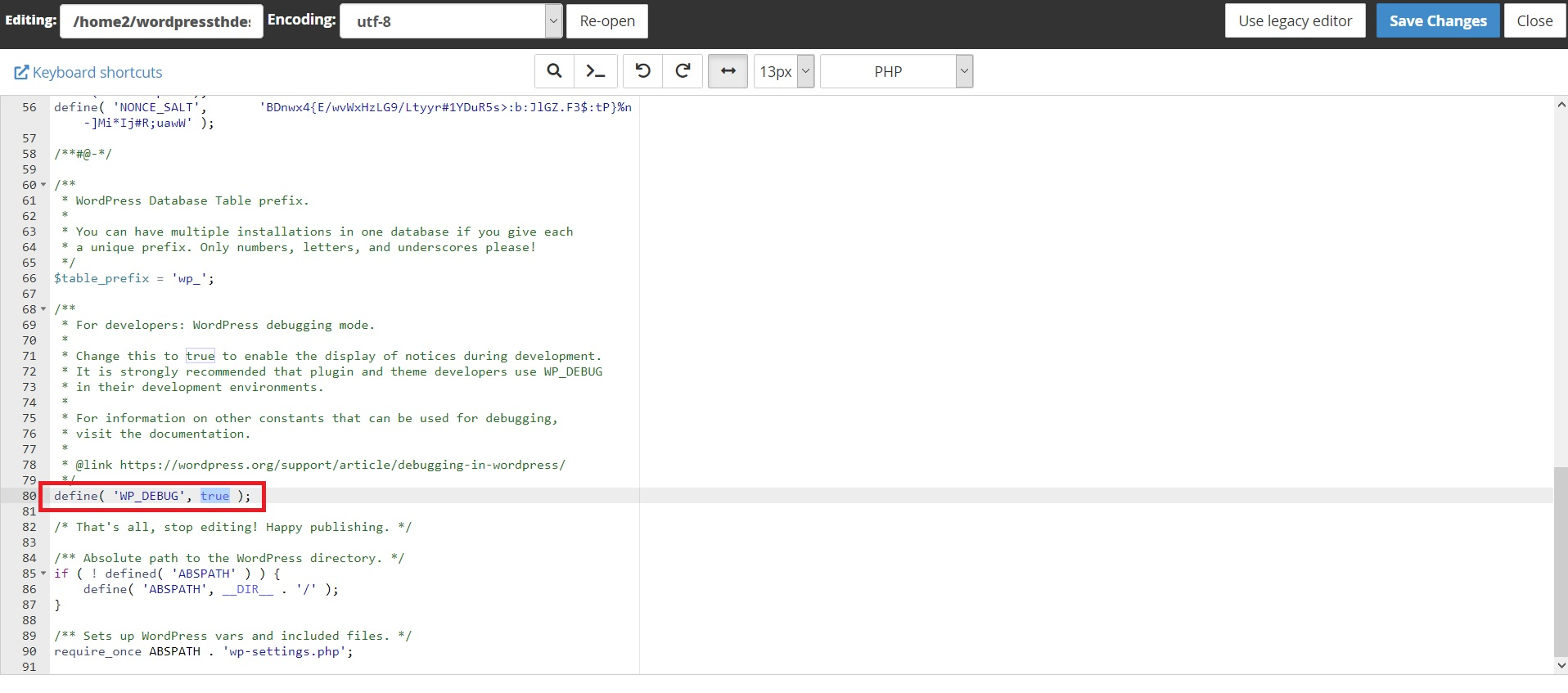 رفع مشکل صفحه سفید وردپرس با فعال کردن نمایش خطا
